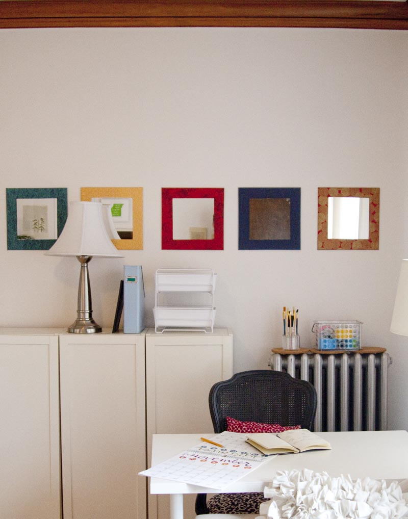 Fashioned Living Room Furniture: Diy Decorative Mirrors And My Office Space